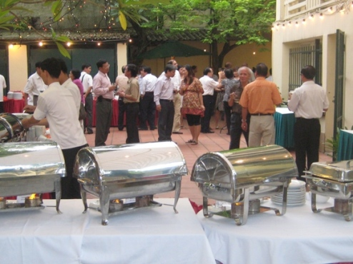 Outside Catering, Anise Hotel Hanoi