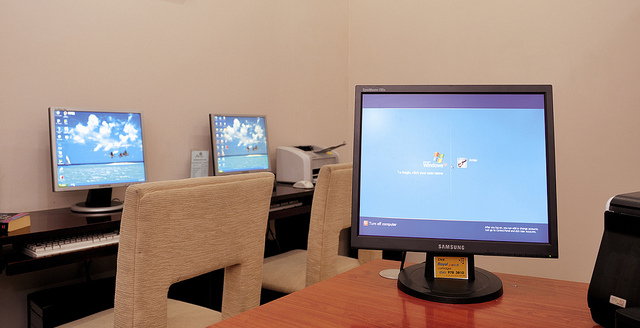Business centre, Anise Hotel Hanoi