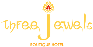 Three jewels Boutique hotel - Logo Full