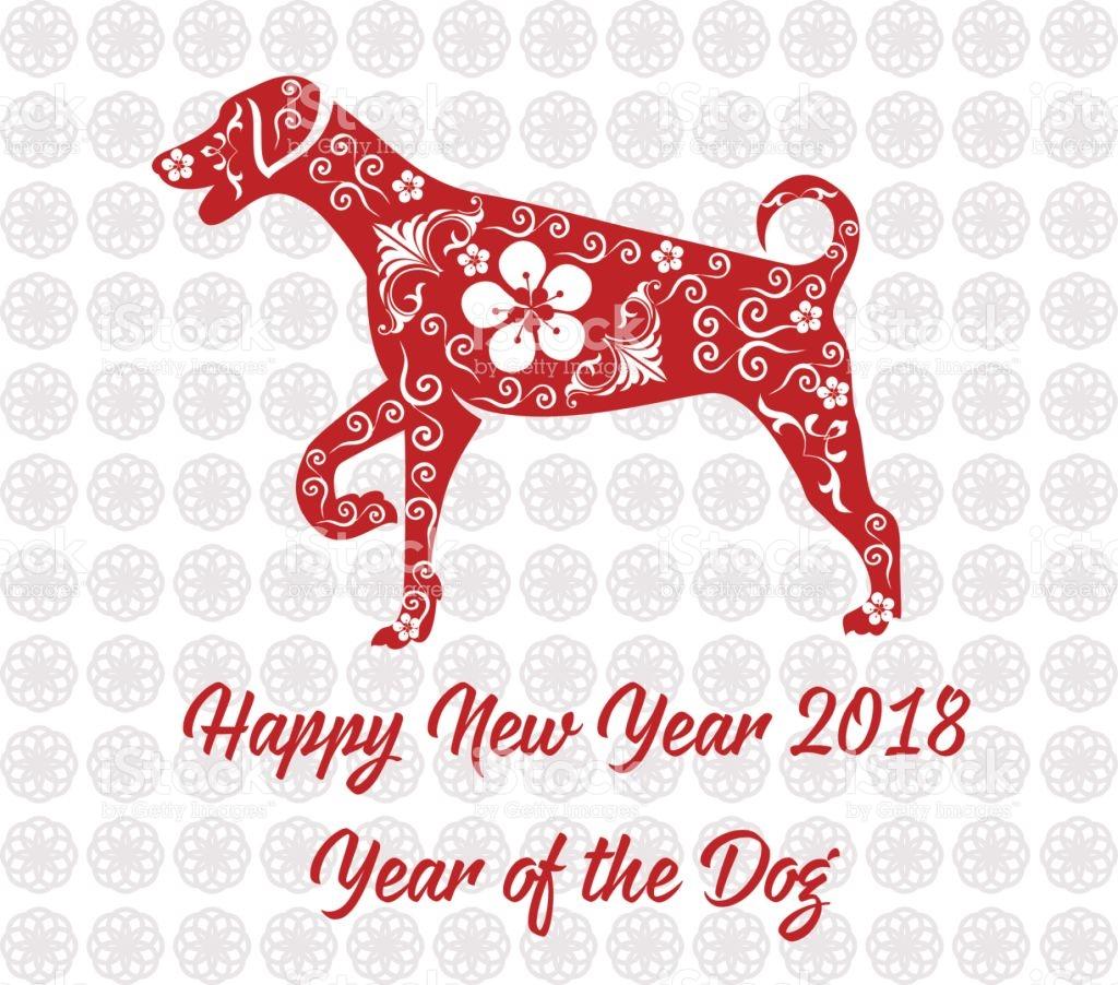 chinese new year 2018 dog - 2018 Chinese New Year