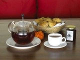 Danu Lounge Cones, Jam and Tea | Lakeview Eco Lodge | Kintamani, Bali - Indonesia