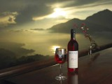 Lakeview Evening Wine | Lakeview Eco Lodge | Kintamani, Bali - Indonesia