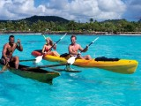 Kayaking at Amoa | Amoa Resort | Savaii, Samoa