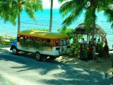 Bus Tou to the Market | Amoa Resort | Savaii, Samoa