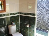 Deluxe Bungalow Bathroom | Amoa Resort | Savaii, Samoa