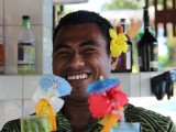 Smiling Faces at the Bar | Amoa Resort | Savaii, Samoa