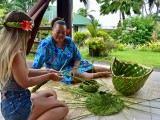 Basket Weaving I Amoa Resort Savaii