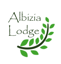 Albizia Lodge - Logo Full