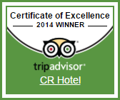Certificate of Excellence 2014 from TripAdvisor
