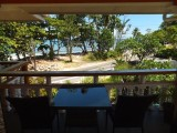 View from the balcony I Georgina's Cottage Beach House I Seychelles