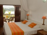 Studio with Balcony Bedroom | La Residence | Mahe, Seychelles