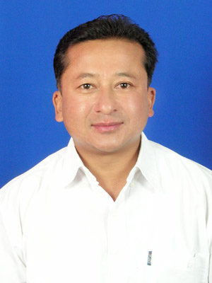 Deepak Shrestha, Managing Director and Host at Mum's Garden Resort, Pokhara, Nepal