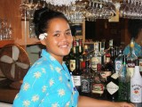 Staff at the Boatshed Bar and Grill - Popoara Ocean Breeze Villas