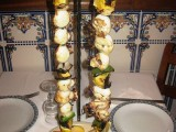 Grilled Cuttlefish with Pineapple Skewer, Ninho do Falcão, Tomar, Portugal