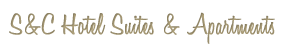 S&C Hotel Suites & Apartments - Logo Full