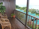 Balcony View - Rose Garden Resort - Palau