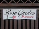 Sign - Rose Garden Resort - Palau