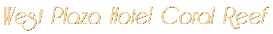 West Plaza Hotel Coral Reef - Logo Full