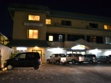 Night Front View - West Plaza Hotel Desekel - Palau