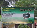 Sign | Paray Lodge | Port Vila, Vanuatu