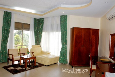 One Bedroom Suites at Royal Suites Hotel Uganda