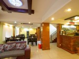 Lobby and dining area | Tibet Peace Inn | Best bed and breakfast in Kathmandu - Nepal