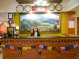 Reception area | Tibet Peace Inn | Best bed and breakfast in Kathmandu - Nepal