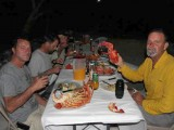 Dinner | Sunset Horizon Fishing Lodge | Kiribati