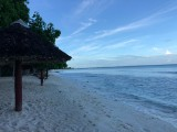 Beachfront huts | Sunset Horizon Fishing Lodge | Kiribati