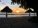 Another sunset at the beachfront | Sunset Horizon Fishing Lodge | Kiribati