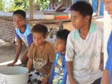 Local Boys - Santa Faustina Homestay - Kiribati