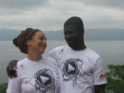 Elodie and Kwadwo, The Green Ranch at Lake Bosomtwe