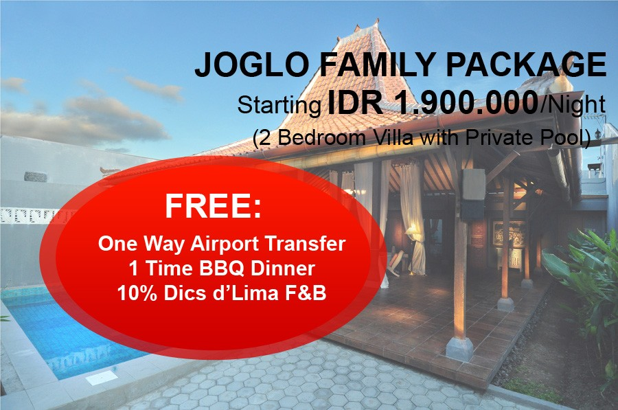 Joglo Family Packages
