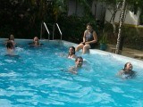 Hope Centre NZ youth at pool