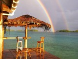 Double Rainbow | Agnes Gateway Hotel | Munda, New Georgia, Solomon Islands