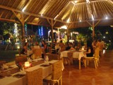 Palm restaurant at kinaara resort & spa pemuteran bali