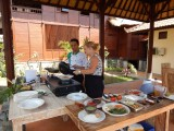 Cookin Class Palm restaurant at kinaara resort & spa pemuteran bali