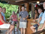 Guests at the Bar | Mounu Island Resort | Tonga