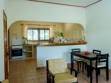 Seating Area & Dining Area - Three Bedroom Apartment - Zerof Self Catering Apartment