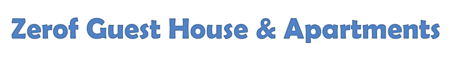 Zerof Guesthouse & Apartments - Logo Full