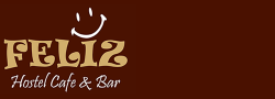 Feliz Hostel Cafe & Bar - Logo Full
