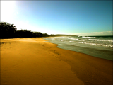 Main Beach Sunset Agnes Water 1770 Southern Great Barrier Reef Holiday Accommodation