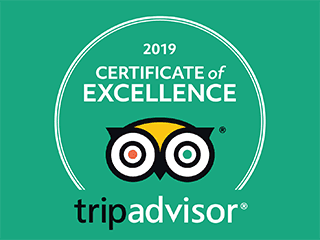 TripAdvisor Certificate of Excellence 2019 | Hotel Middle Path