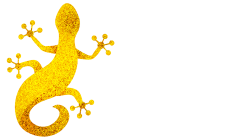 The Golden Gecko Villa - Logo Full