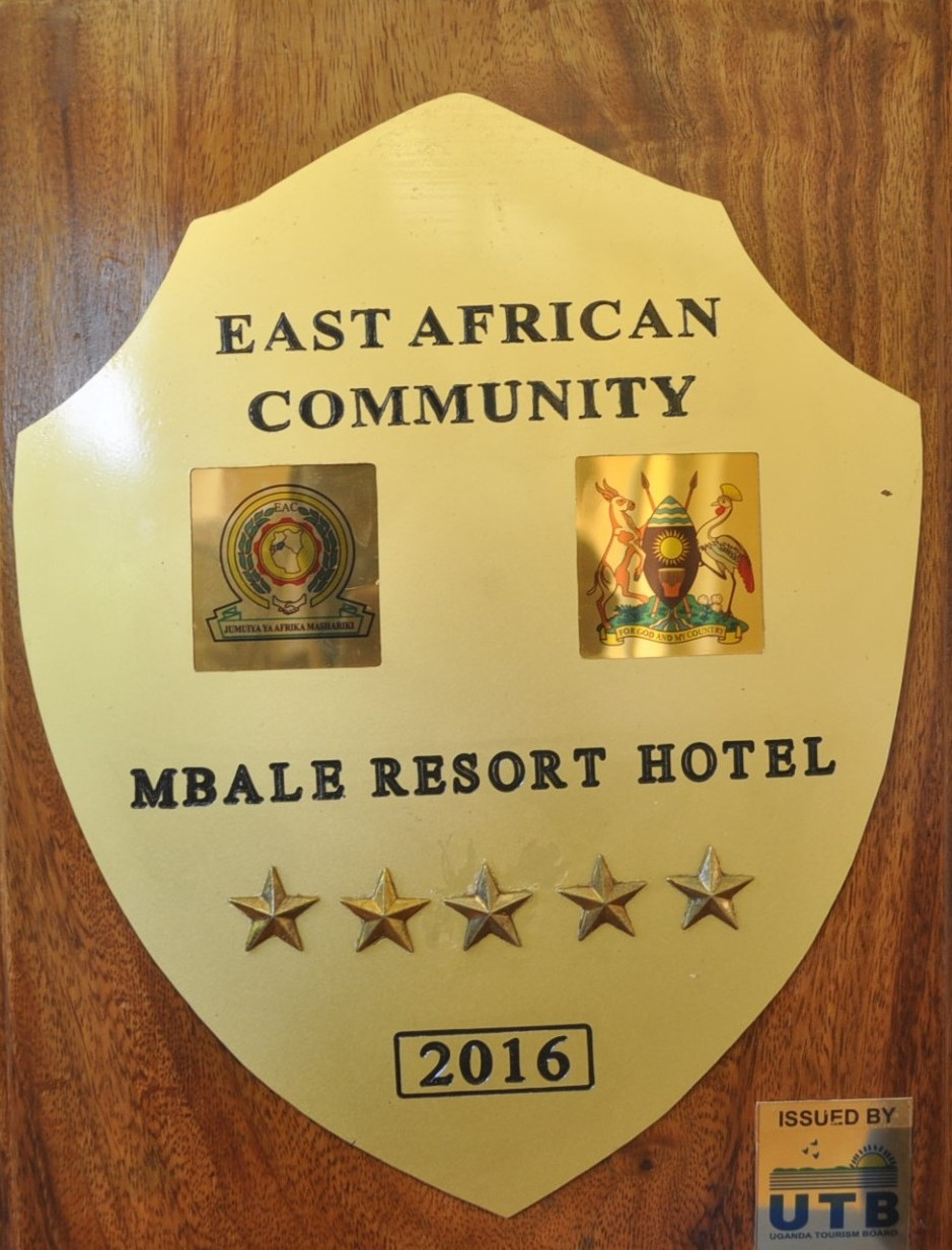five star award from Uganda tourism board