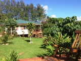 Gardens & Grenouille Cottage View | Les Cottages de Bellevue Ecolodge | Port Vila, Vanuatu