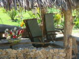 Seating under the Fare | Les Cottages de Bellevue Ecolodge | Port Vila, Vanuatu