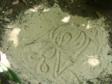 Sand Drawing | Les Cottages de Bellevue | Vanuatu