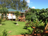 Gardens & Hibiscus Cottage View | Les Cottages de Bellevue Ecolodge | Port Vila, Vanuatu