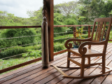 Hibiscus Cottage Deck | Les Cottages de Bellevue Ecolodge | Port Vila, Vanuatu